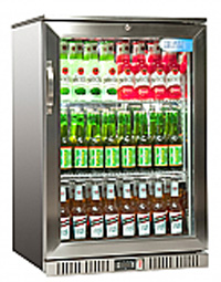 Stainless Steel Single Door Bottle Cooler